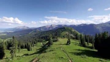 Teocalli Sunrise – Crested Butte Colorado
