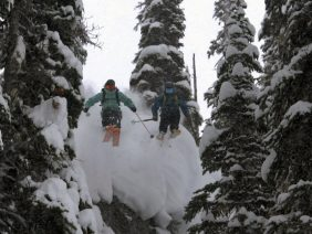 Mark Abma / Eric Hjorleifson / Chris Rubens – Backcountry Camp and Shred – Return to Sender