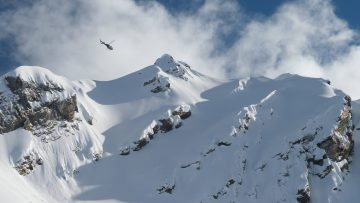 Karl Fostvedts First Line of the Heli Skiing Trip – Behind the Sends – Return to Sender