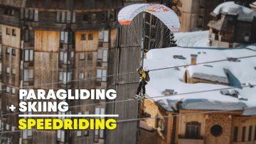 Speedriding Through An Alpine Resort | From Avoriaz With Love